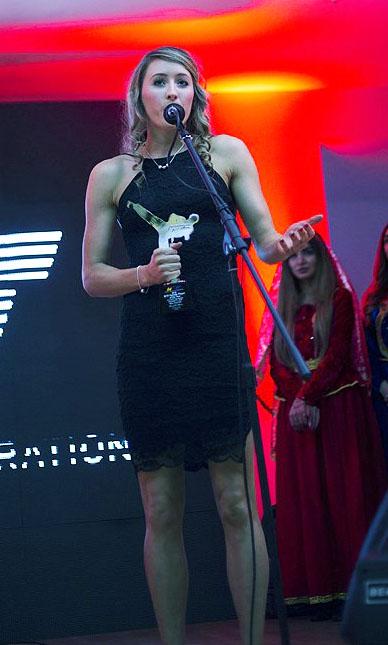 2016 WTF Female Player Of The Year Jade Jones GBR